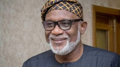 Photo of Akeredolu Defeats Jegede Again, Re-Elected As Governor