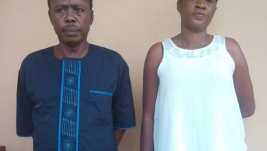 Photo of Couple Bags 40 Years Jail Term for N53m Fraud